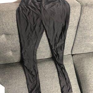 Nylon spandex leggings